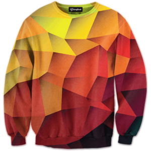 Abstract Sketch crewneck