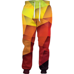 Abstract Sketch joggers