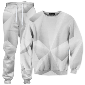 Abstract whiteout TRACKSUIT