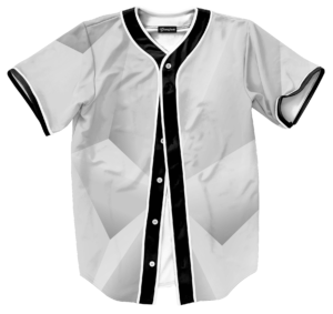 Abstract whiteout jersey