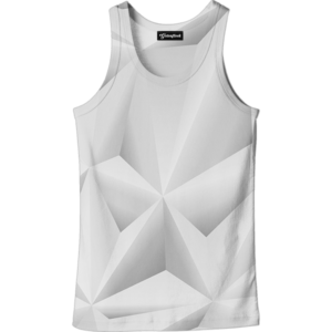 Abstract whiteout tank