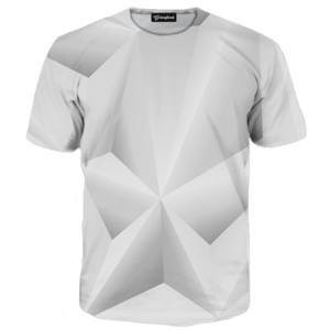 Abstract whiteout tee