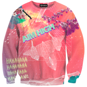 Aim High Crewneck