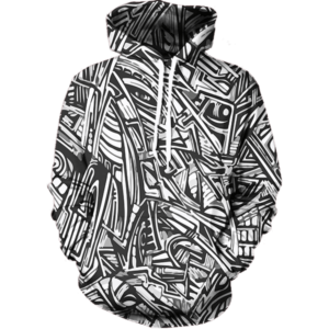 All Over Graffiti hoodie