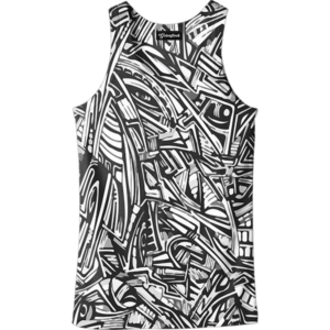 All Over Graffiti tank