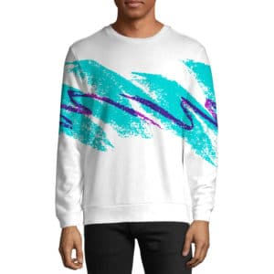 Jazzy 90s Paper Cup Tee - All Over Print Apparel - Getonfleek