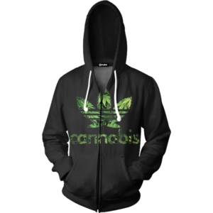 Cannabis Zip up