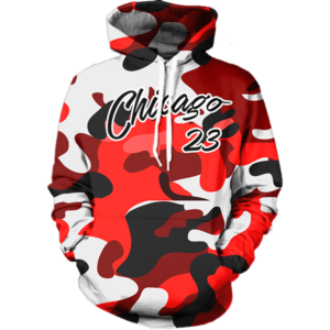 Chicago 23 Camo hoodie