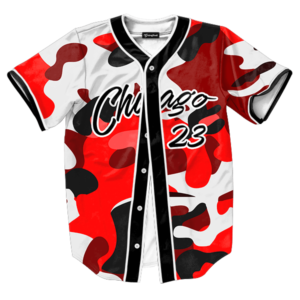 Chicago 23 Camo jersey