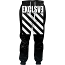 Exclusive Print Joggers