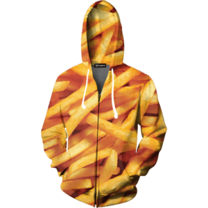 French Fries zip up