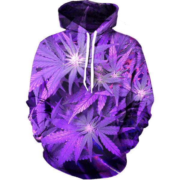 Future Weed Hoodie - All Over Print Apparel