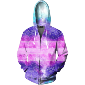 Galactic Tribe zip up