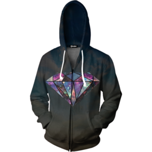 Galaxy Diamond zip