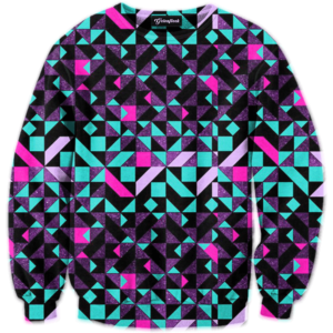 Geometric Tribe crewneck