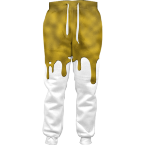 Gold Drip Joggers