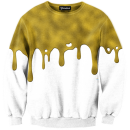 Gold Drips Crewneck