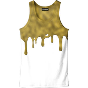 Gold Drips Tank