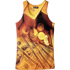 Gold Money Tank