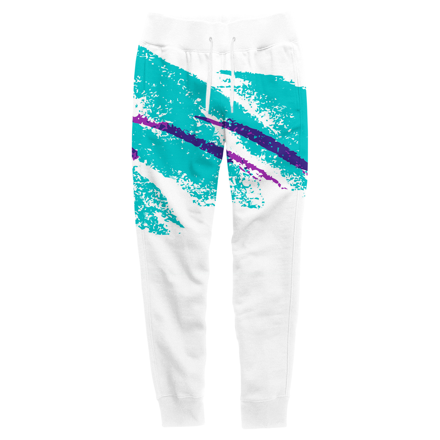 e45f857c1f3 Jazzy 90s Paper Cup Joggers - All Over Print Apparel - Getonfleek