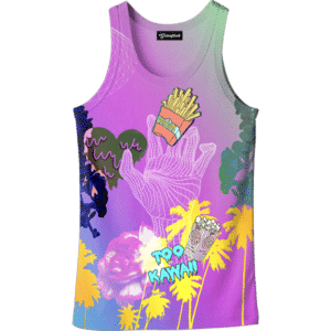 Kawaii Fries Tank