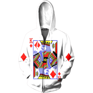 King of Diamonds zip up