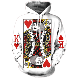 King of hearts hoodie