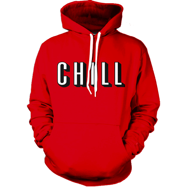 Netflix and Chill Hoodie - All Over Print Apparel