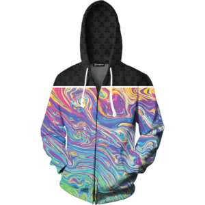 Oil Paint zip up