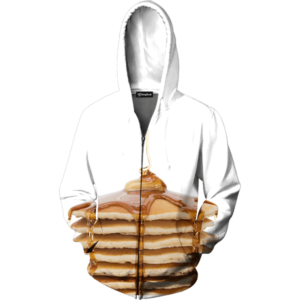 Pancakes zip up