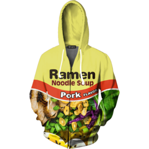 Pork Ramen zip up