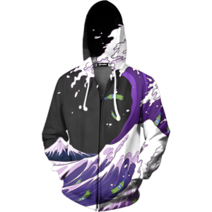 Purple Drank Wave Zip Up