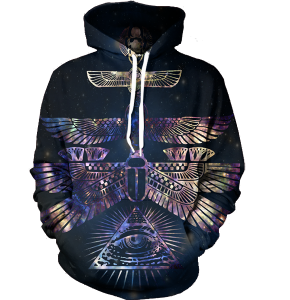 Pyramid of the Galaxy hoodie