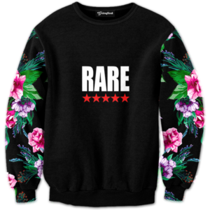 Rare Five Star Floral Crewneck