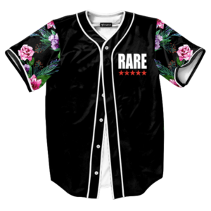 Rare Five Star Floral Jersey