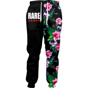 Rare Five Star Floral Joggers