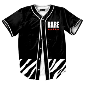 Rare Five Star Zebra Jersey