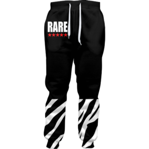 Rare Five Star Zebra Joggers