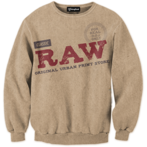 Raw Papers Blunts crewneck