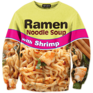 Shrimp Ramen crewneck