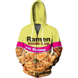 Shrimp Ramen zip up