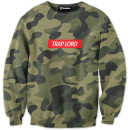 Trap Lord Camo crewneck