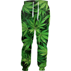 Weed Camo Joggers