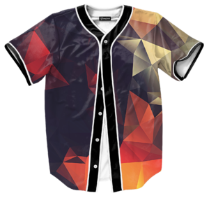 abstract glow jersey