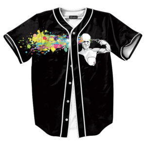 abstract headshot jersey