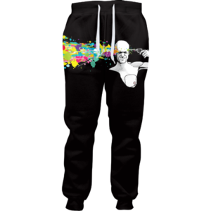 abstract headshot joggers
