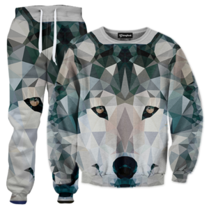 abstract wolf TRACKSUIT