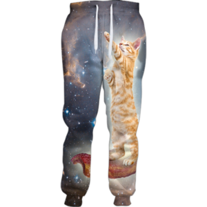 bacon cat jogger