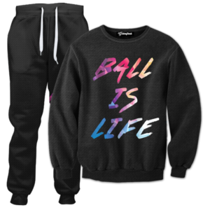 ball is always life tracksuit