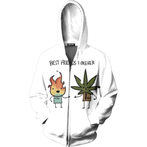 besties zip up